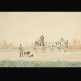 """16: Continental School   """"Carriage & Hounds"""""""