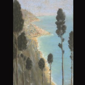 "19: VARNIERI  ""Early Evening Light, Amalfi, Italy"""