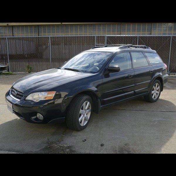 2006 Subaru Outback Wagon, 50,382 miles indicated.