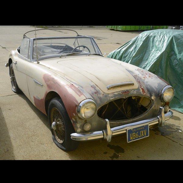 1965 Austin Healey 3000 Mk III