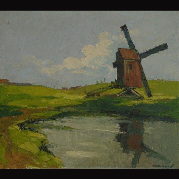 "THOMAS  MAILLARD  ""Belgian Electric""  Oil"