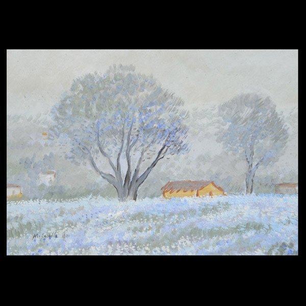 "MICHELE CASELLA   ""Blooming Landscape, 1930"""