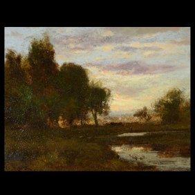 "WILLIAM KEITH  ""California Landscape"" Oil"