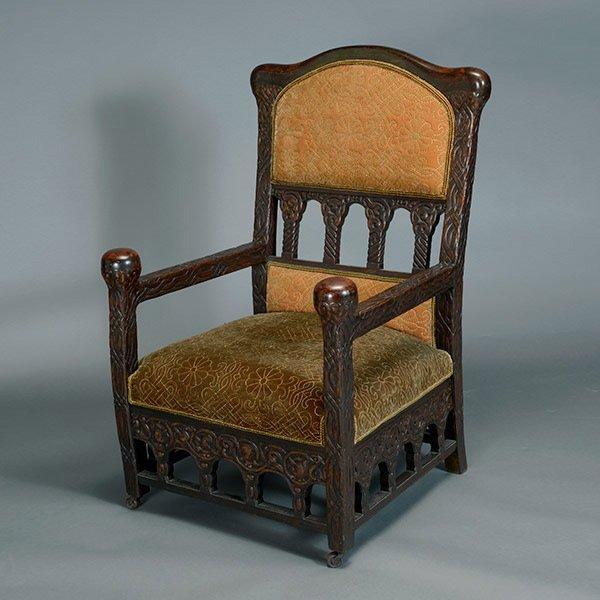 Tiffany Studios Havemeyer Armchair.