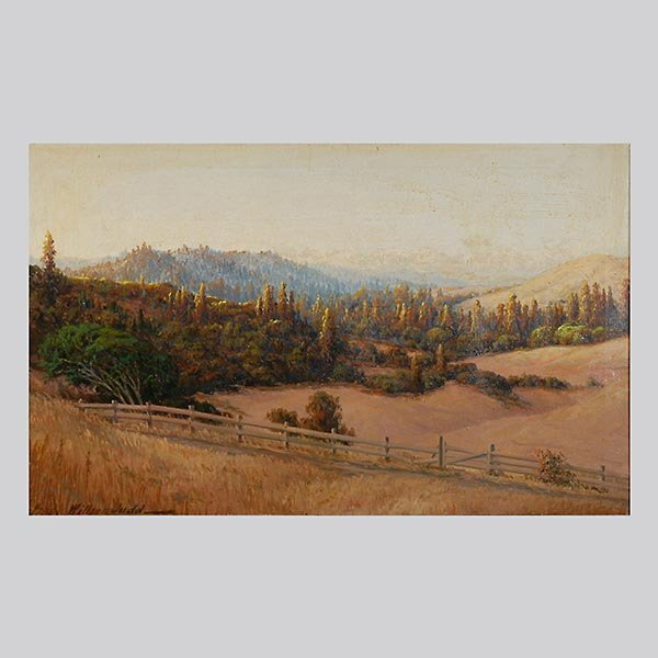 "Frank Willson Judd ""Pasture Landscape"" Oil"