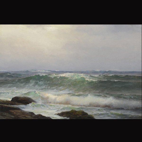 "WARREN SHEPPARD  ""Crashing Waves"" Oil"