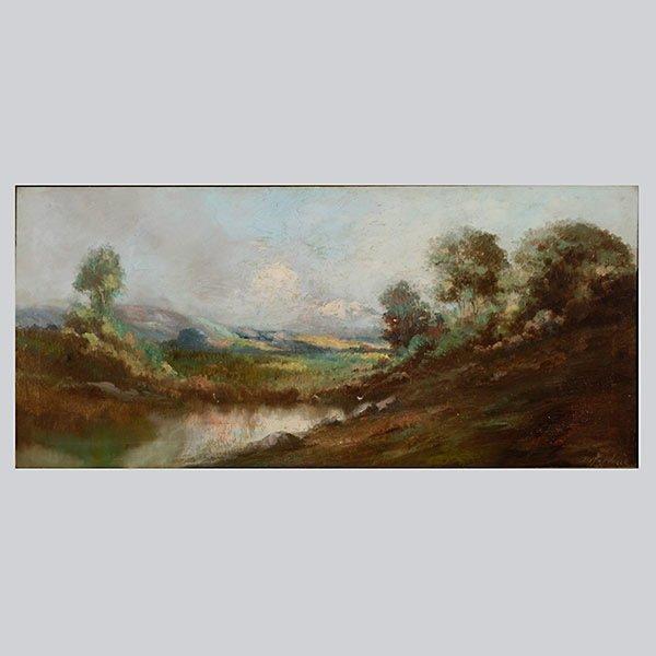 "Richard DeTreville ""California Landscape"" Oil"