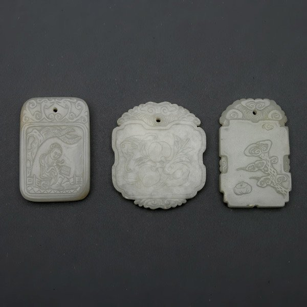 Three Jade Pendants