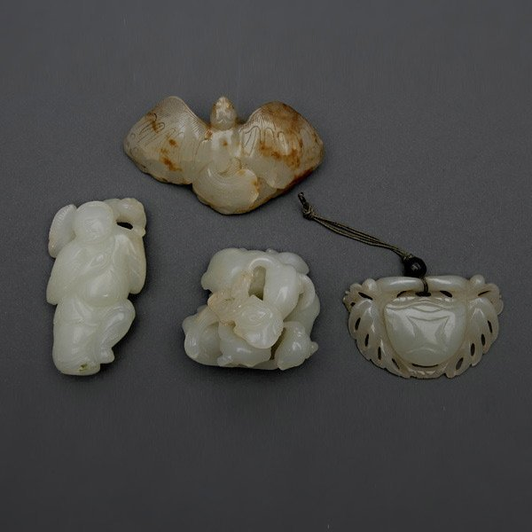 Four Jade Carvings