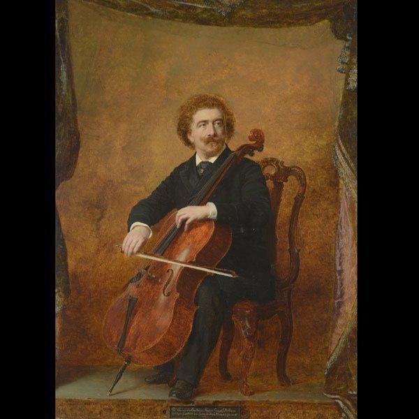 ANDRZEJ JERZY DE MNISZE  Joseph Hoffman, 1889  Oil