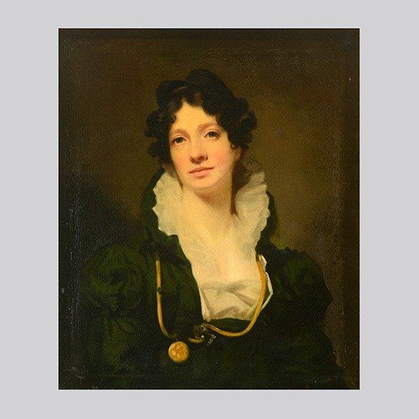 "HENRY RAEBURN   ""Portrait of Mrs. James Smith"""