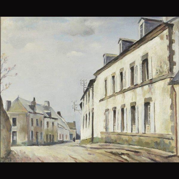 EMILE BRESSLER Hospice de Sarzeau Morbihan, 1928