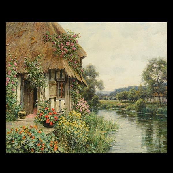 LOUIS ASTON KNIGHT  Diana's Cottage  Oil