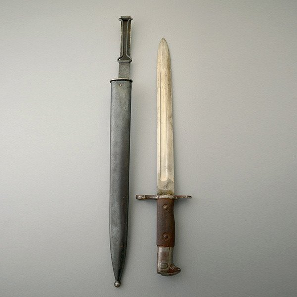 U.S. Bayonet and Scabbard for Bolt Action Rifle