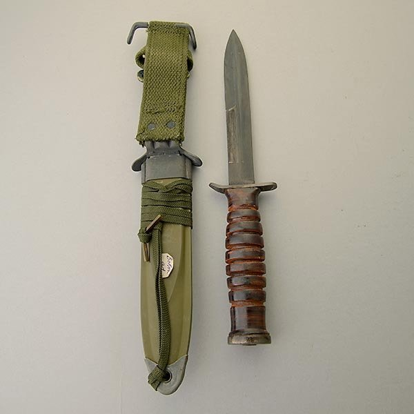 US WWII M3 Trench Knife US Boker - 4