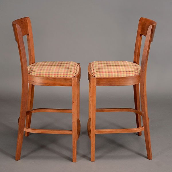 Two Thomas Moser Bar Stools. - 2