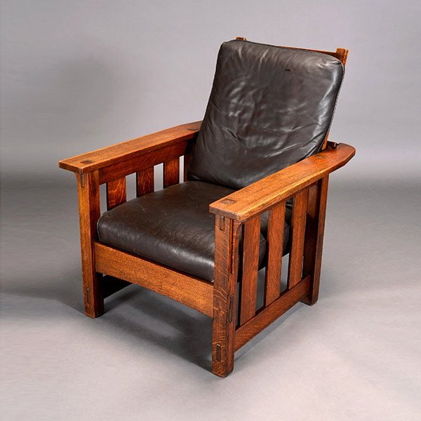Lifetime Morris Chair with Leather