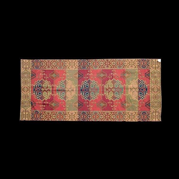 Woven Arts & Crafts Multi-Color Arabesque