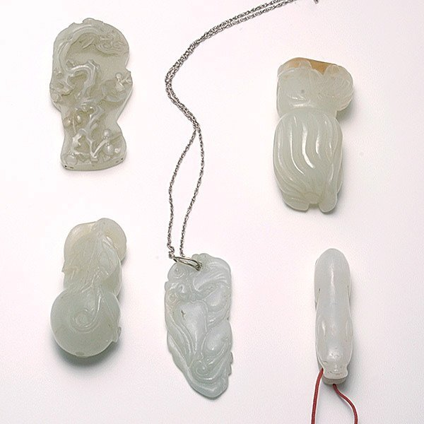 Five Jade Carvings