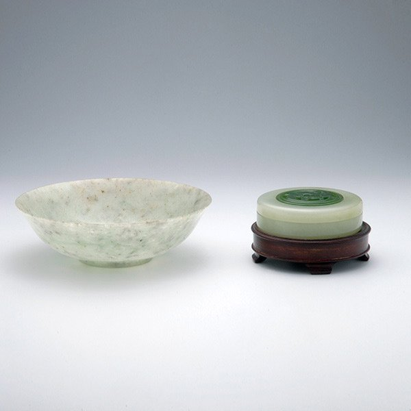 Two Jade Objects, Early 20th Century