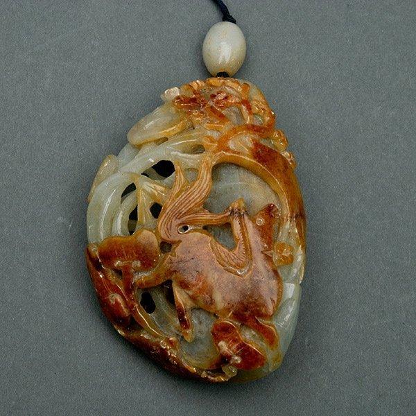 A Celadon Jade Toggle