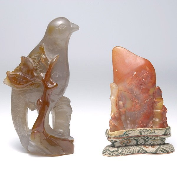 Two Stone Carvings