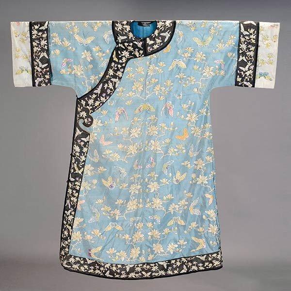 A Kesi-Woven Silk Robe