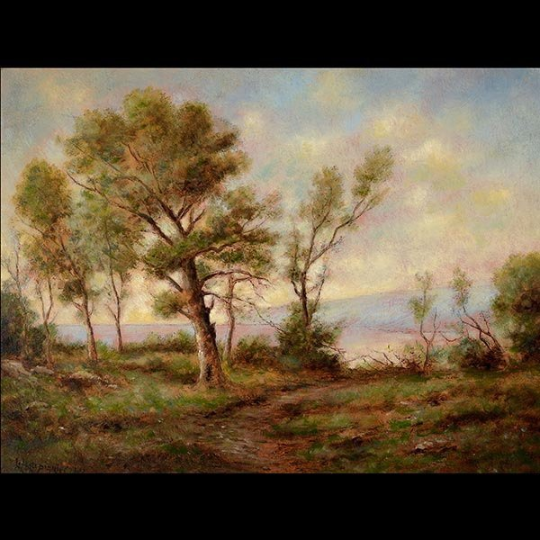 Painting, French Landscape, HARPIGNIES