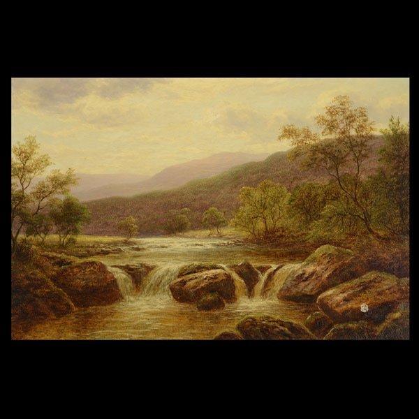 WILLIAM MELLOR   On the Llugwy, North Wales, 1886