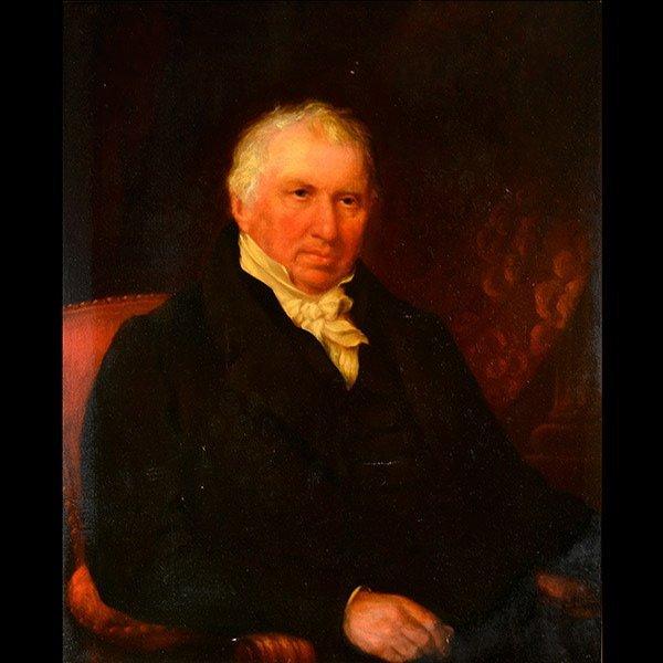 SCHOOL OF HENRY RAEBURN Portrait of a man