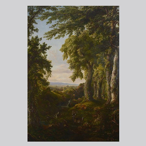 Style of THOMAS COLE Hudson River School