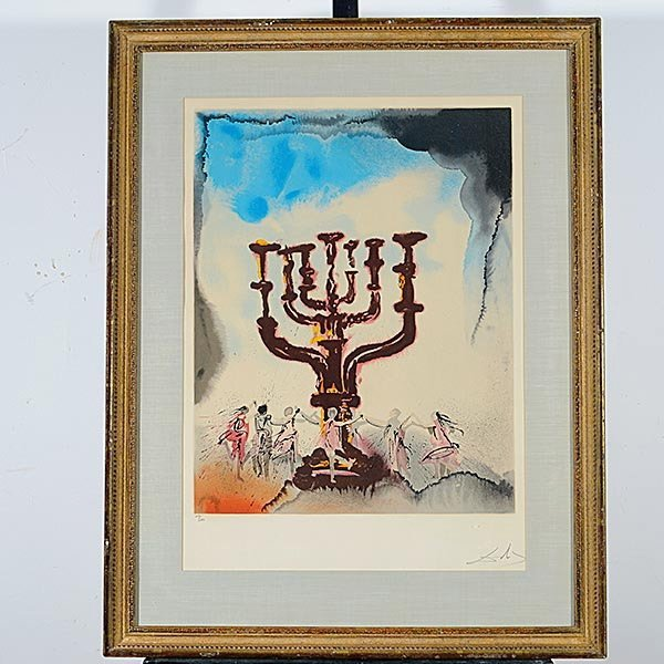 Salvador Dali, Aliyah, 11 lithographs each Signed - 3