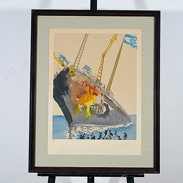 Salvador Dali, Aliyah, 11 lithographs each Signed - 4