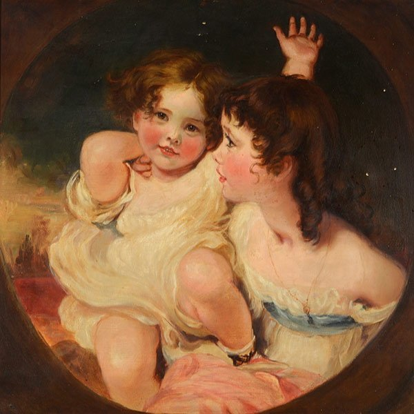 """After SIR LAWRENCE THOMAS """"The Calmady Children"""""""
