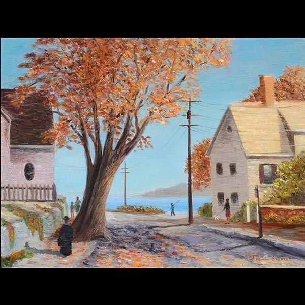 Autumn Coastal Scene, VIRGINIA SKEHEN