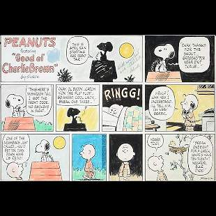 CHARLES SCHULZ Charlie Brown Sunday Comic Strip