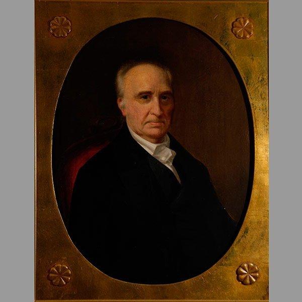 Anonymous Portrait of Gentleman, Oil on canvas