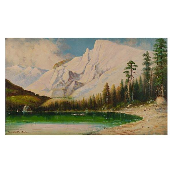 EDNA GAMBLE  High Sierra, 1929 Oil on canvas