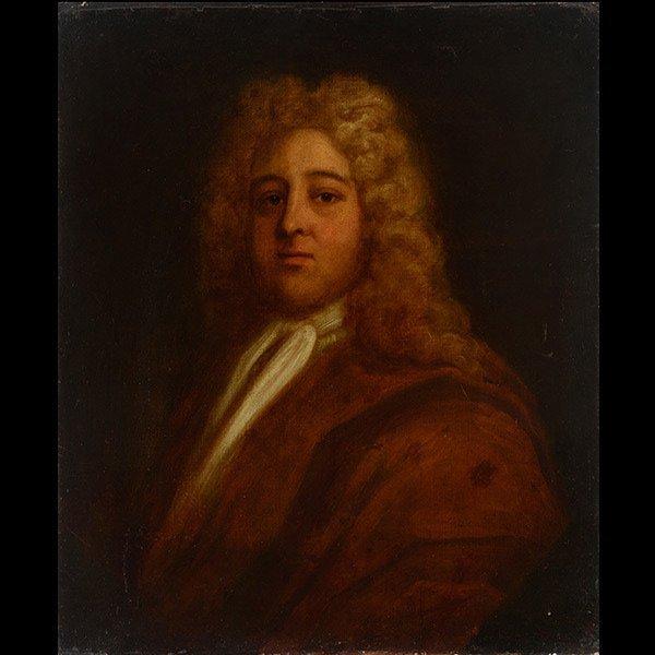 Style of Nicolas de Largilliere Portrait of a Duke