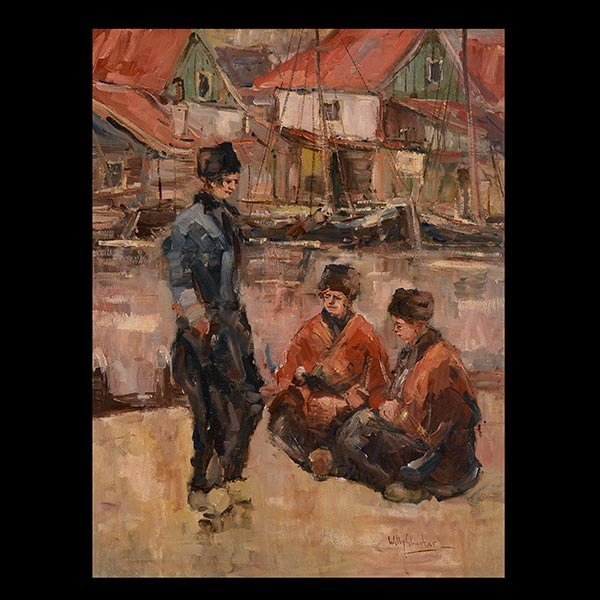 WILLY SLUITER, Dutch Fishing Village