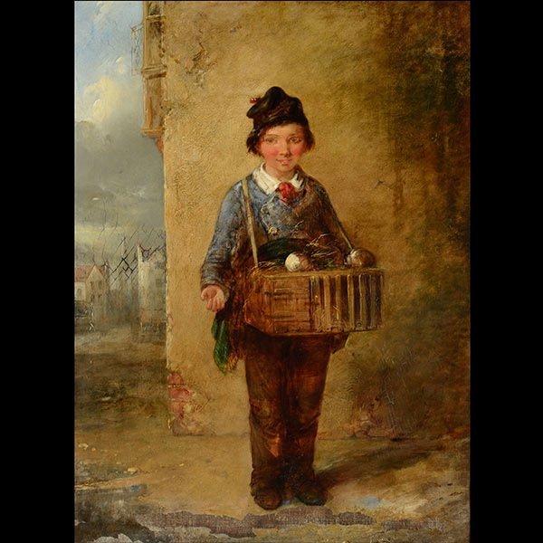 19th Century English Genre Painting