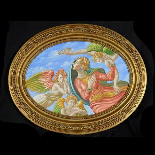 LUIGI CANNELLI Renaissance Style Painting