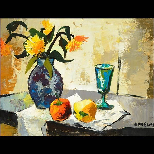 JACQUES DANGLAS Modern French Still Life