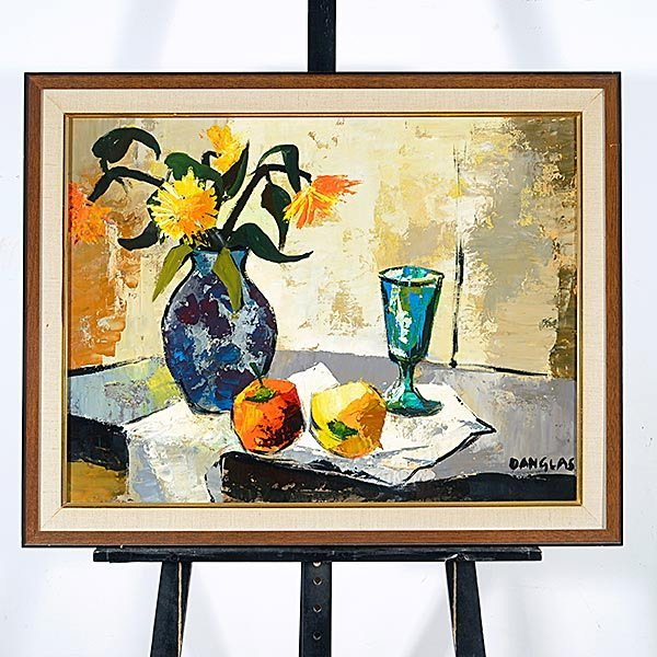 JACQUES DANGLAS Modern French Still Life - 4
