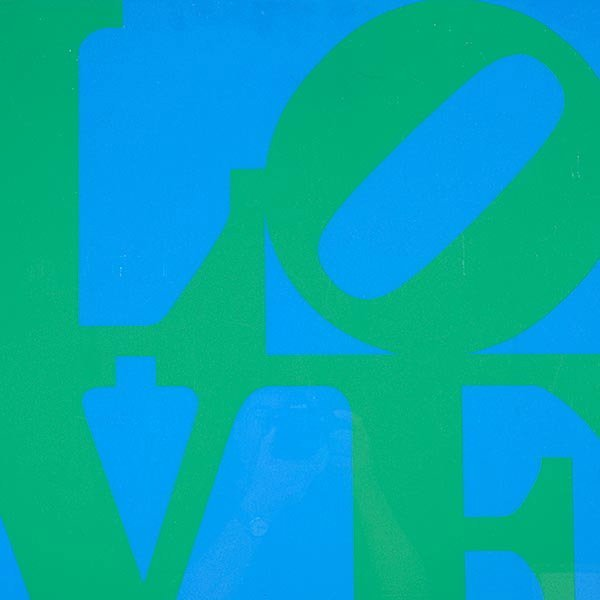 ROBERT INDIANA Love Poster, Stable 1966 - 3