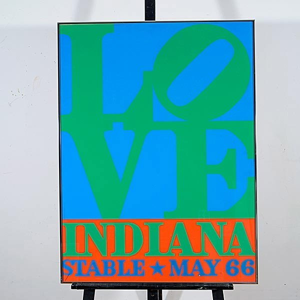 ROBERT INDIANA Love Poster, Stable 1966 - 4