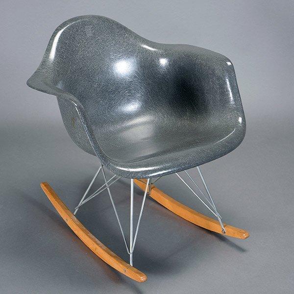 Herman Miller Fiberglass Rocking Chair C. 1959.
