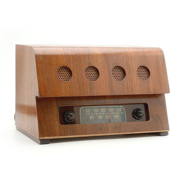 1946 Teletone Eames Plywood Radio