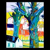 RENE COUTURIER Trees Oil on canvas