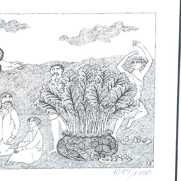 EDWARD GOREY Lot of 2 prints from PBS Mystery! Series - 2